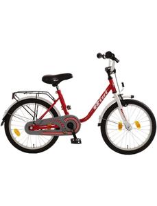 Kinderfahrrad »Bibi«, 1 Gang, U-Type Rahmen, Weiß-Rot