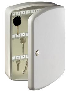 Schlüsselbox »KB 35 W«, mit Zylinderschloss, 23,5 x 33 x 7,5 cm