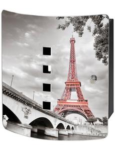 Schlüsselbox »Tour Eiffel«, mit Magnetschloss, 21 x 24 x 7 cm