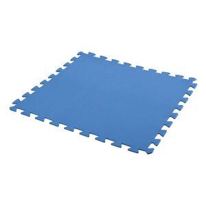Bodenschutzmatten für Aufstellpools 50x50cm 9er-Set Blau