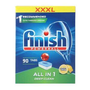 Finish Powerball All in 1 Deep Clean Lemon Sparkle Tabs 90er