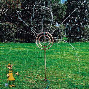 Grüner Jan Wassersprinkler mit Kupfermantel 86cm