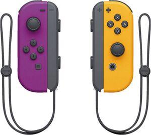 Nintendo Joy-Con 2er-Set Neon-Lila/Neon-Orange (Switch)