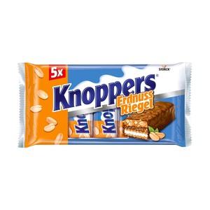 Knoppers Nuss-, Erdnuss- oder Kokos-Riegel jede 5er = 200-g-Packung