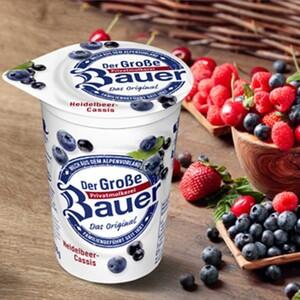 Bauer Fruchtjoghurt versch. Sorten, jeder 250-g-Becher
