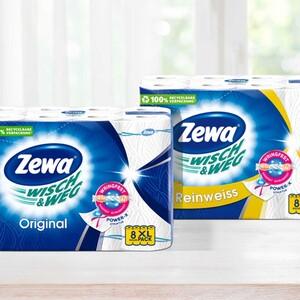 Zewa Wisch & Weg Küchenrollen 8 x 45 Blatt, versch Sorten, jede Packung