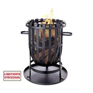 Feuerkorb Montgomery • inkl. Ascheauffangschale • Maße: ca. H 55 x Ø 35 cm