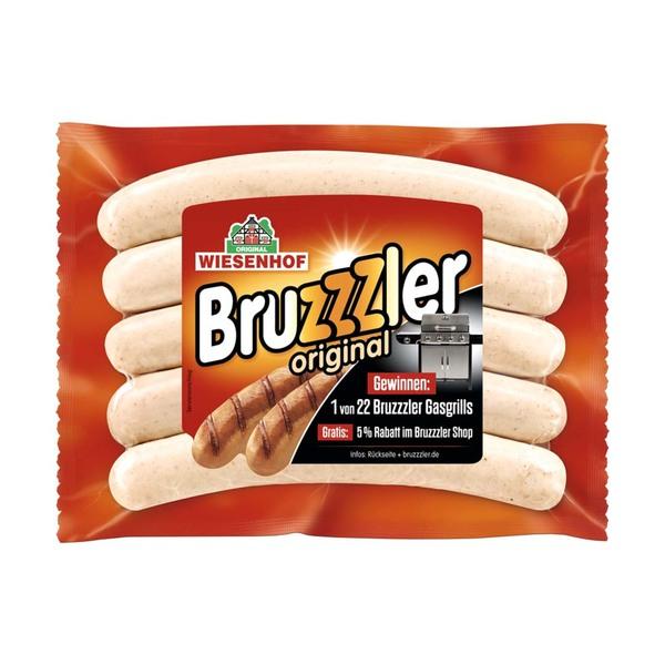 """Wiesenhof """"Bruzzzler"""" Geflu?gelbratwurst versch. Sorten,  jede 350/400-g- SB-Packung"""