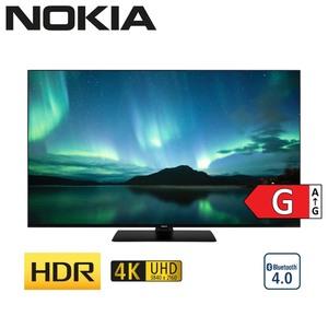 5500A • 4 x HDMI, 2 x USB, CI+ • integr. Kabel-, Sat- und DVB-T2-Receiver • Maße: H 71,1 x B 123,3 x T 6,6 cm • Energie-Effizienz G (Spektrum A bis G) nach neuer Richtlinie • Bildschi