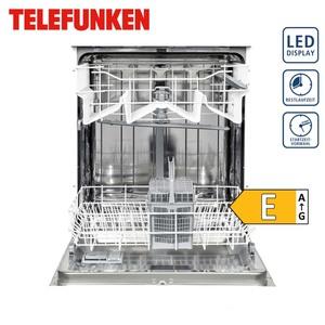 Geschirrspu?ler TFGSS 60 X1E • fu?r 12 Maßgedecke • 4 Programme • Maße: H 85,0 x B 59,8 x T 59,8 cm • Energie-Effizienz E (Spektrum: A bis G, nach neuer Richtlinie)