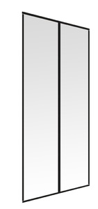 Powertec Magnetvorhang 110x210cm, Anthrazit