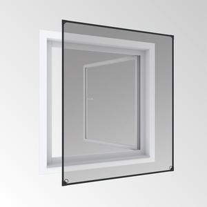 Powertec Magnetfenster 100x120cm anthrazit