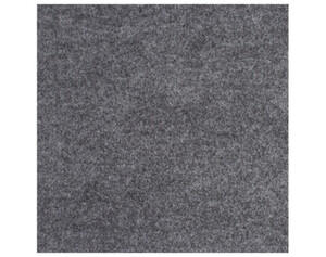 Fliese Filz grau ca. 40 x 40 cm selbstklebend