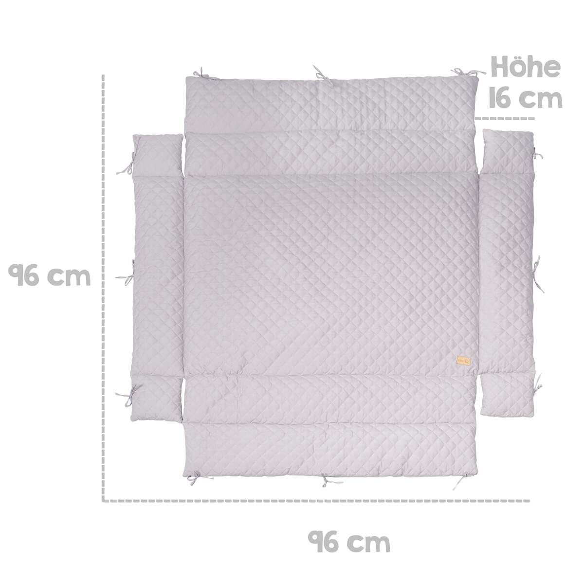 Bild 2 von roba 4-eckige Universal-Laufgittereinlage Style grau