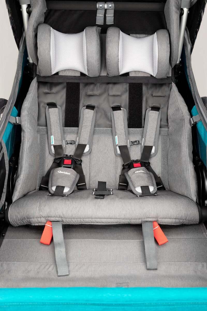 Bild 5 von Qeridoo Kindersportwagen Kidgoo2, Petrol