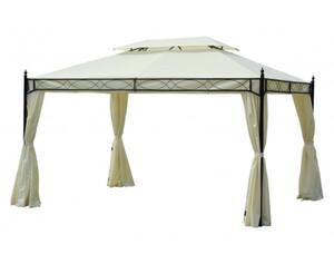 Outsunny Luxus Pavillon mit Doppeldach