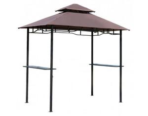 Outsunny Grillpavillon mit Doppeldach