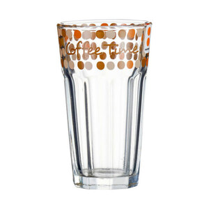 "Montana Latte Macchiato Glas ""Enjoy"" 300 ml"