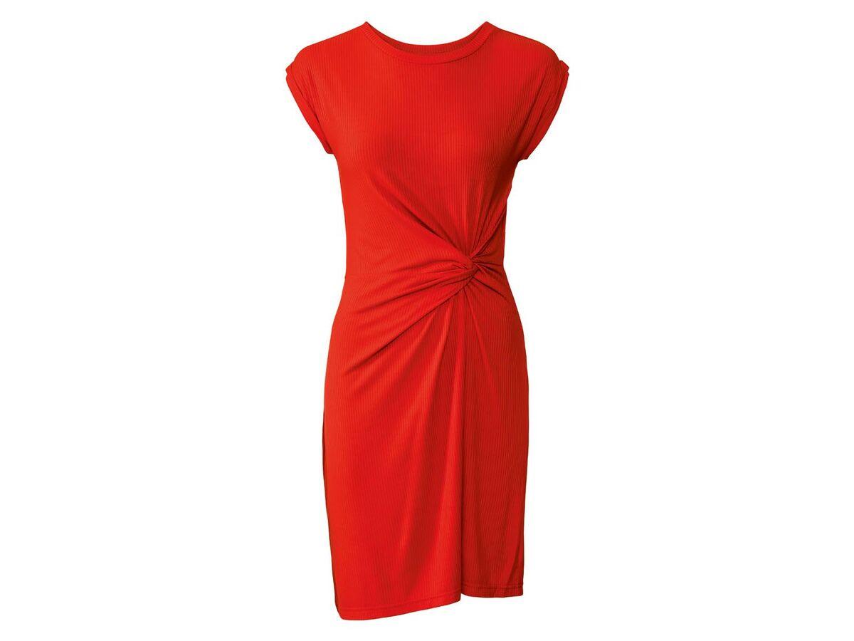 Bild 2 von ESMARA® Kleid Damen, tailliert geschnitten, Zierknoten