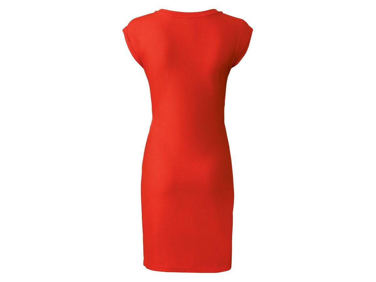 Bild 4 von ESMARA® Kleid Damen, tailliert geschnitten, Zierknoten