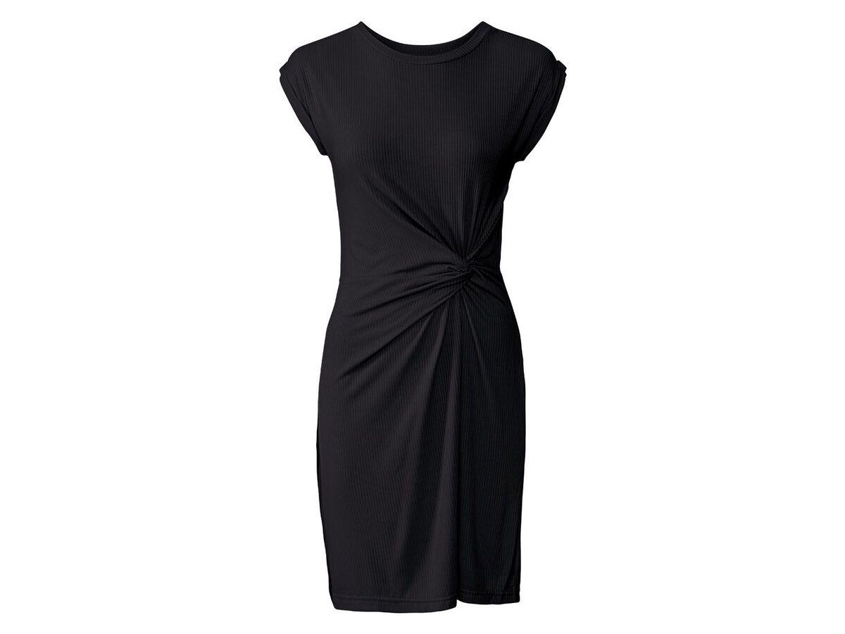 Bild 5 von ESMARA® Kleid Damen, tailliert geschnitten, Zierknoten