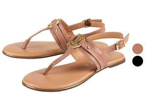 JETTE Sandalen Damen, mit verstellbaren Fersenriemen