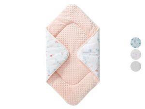LUPILU® Baby Einschlagdecke, 73 x 73 cm, mit Baumwolle
