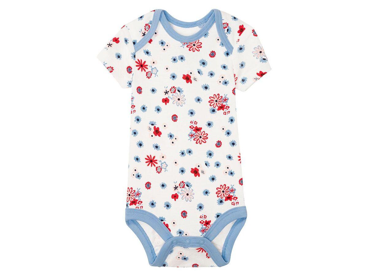 Bild 5 von LUPILU® 3 Baby Mädchen Bodys