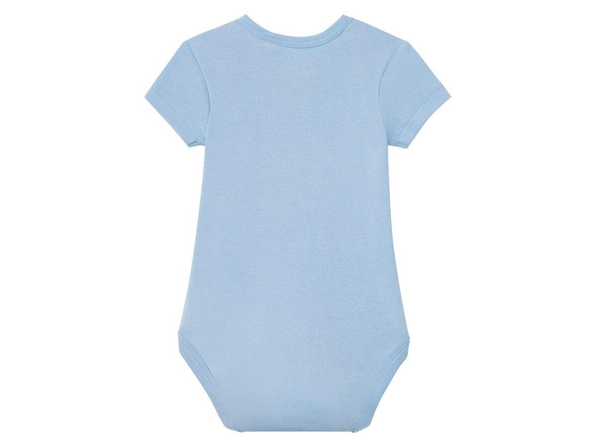 Bild 5 von LUPILU® 3 Baby Jungen Bodys