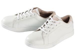 PEPPERTS® Sneaker Mädchen, mit TPR-Laufsohle, Schnürung, Obermaterial aus Leder