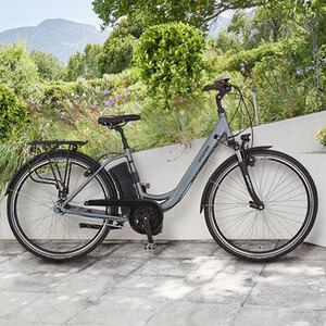 "Alu-City-E-Bike (28"") mit Mittelmotor1"