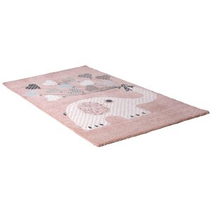 homara Kinderteppich - rosa - 80x150 cm