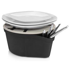 Royal Vkb Abräumhilfe für Geschirr und Essensreste anthrazit, Grau