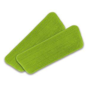 CLEANmaxx Ersatz-Wischtuch 2er-Set - Limegreen, Grün