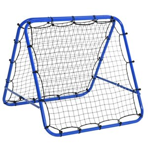 Homcom Baseball Rebounder faltbar blau