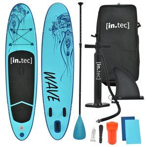 in.tec Stand Up Paddle Board SUP Irun Aufblasbar bis 85kg Türkis