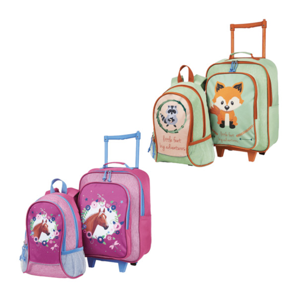 ROYAL LIFE     Kindertrolley mit Rucksack