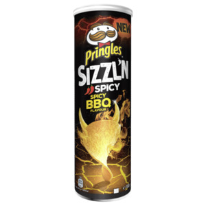 Pringles Spicy Barbecue Chips180g