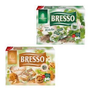 BRESSO     Frischkäsezubereitung-Portionen