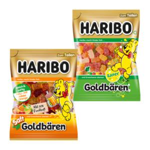 HARIBO     Saft-Goldbären / Goldbären sauer