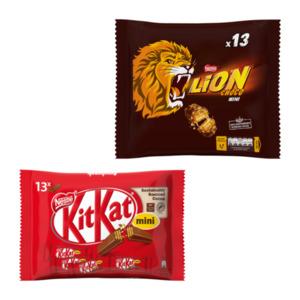 NESTLÉ     Smarties / Kitkat / Lion mini