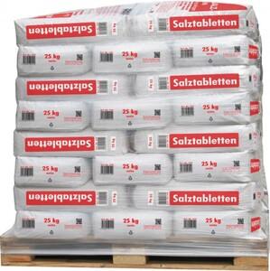 Ralinger Salz Regeneriersalztabletten Aktionspalette 40 x 25 kg, für Wasserenthärter