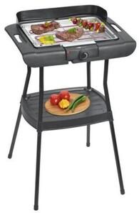 Clatronic Elektrogrill BQS3508 Grillfläche 35,5 x 24,5 cm, Tisch und Standgerät