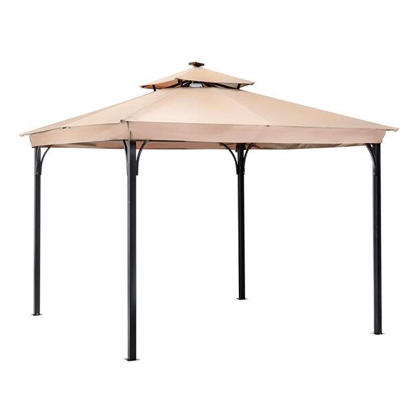 "Haveson              LED-Pavillon ""Athen"" 300x300 cm, cappuccino"