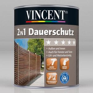 """Vincent              2in1 Dauerschutz """"Weiß"""", 0,375 L"""