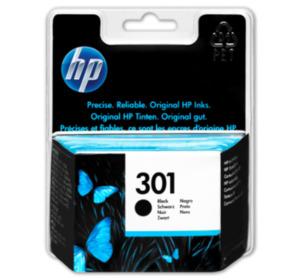 HP Druckerpatronen 301 Black