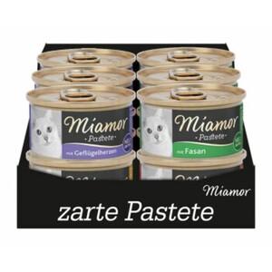 Miamor Pastete Multibox 12x85g Mixpaket Geflügel