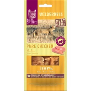 REAL NATURE WILDERNESS Meat Flakes 12x10g Pure Chicken (Huhn)