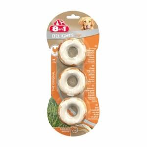 8in1 Delights Kauringe Hähnchenfleisch 1x3 Stück