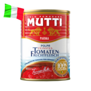 Mutti Polpa fein gehackte Tomaten